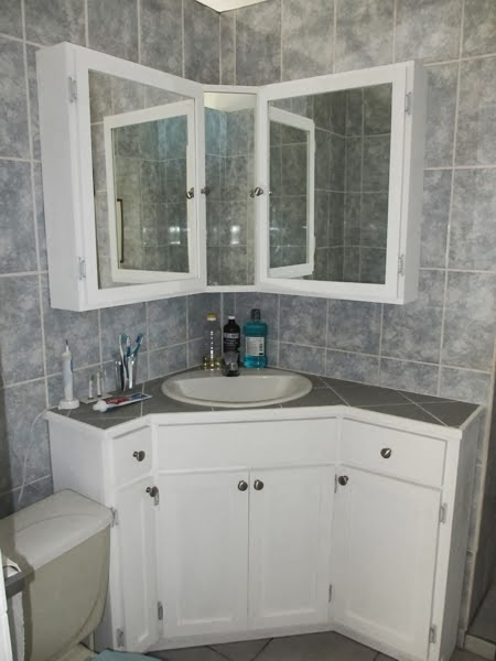 The Wright Time In Belize New Bathroom Wall Cabinets