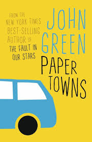 PAPER TOWNS - BOOK COVER