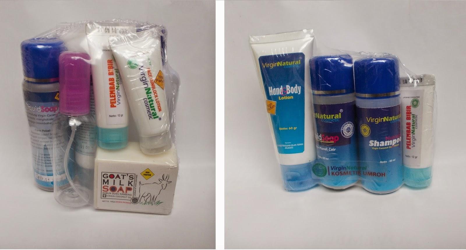 Kosmetik Non Parfum Dan Alkohol Untuk Haji Umroh Cantik Dengan Vco