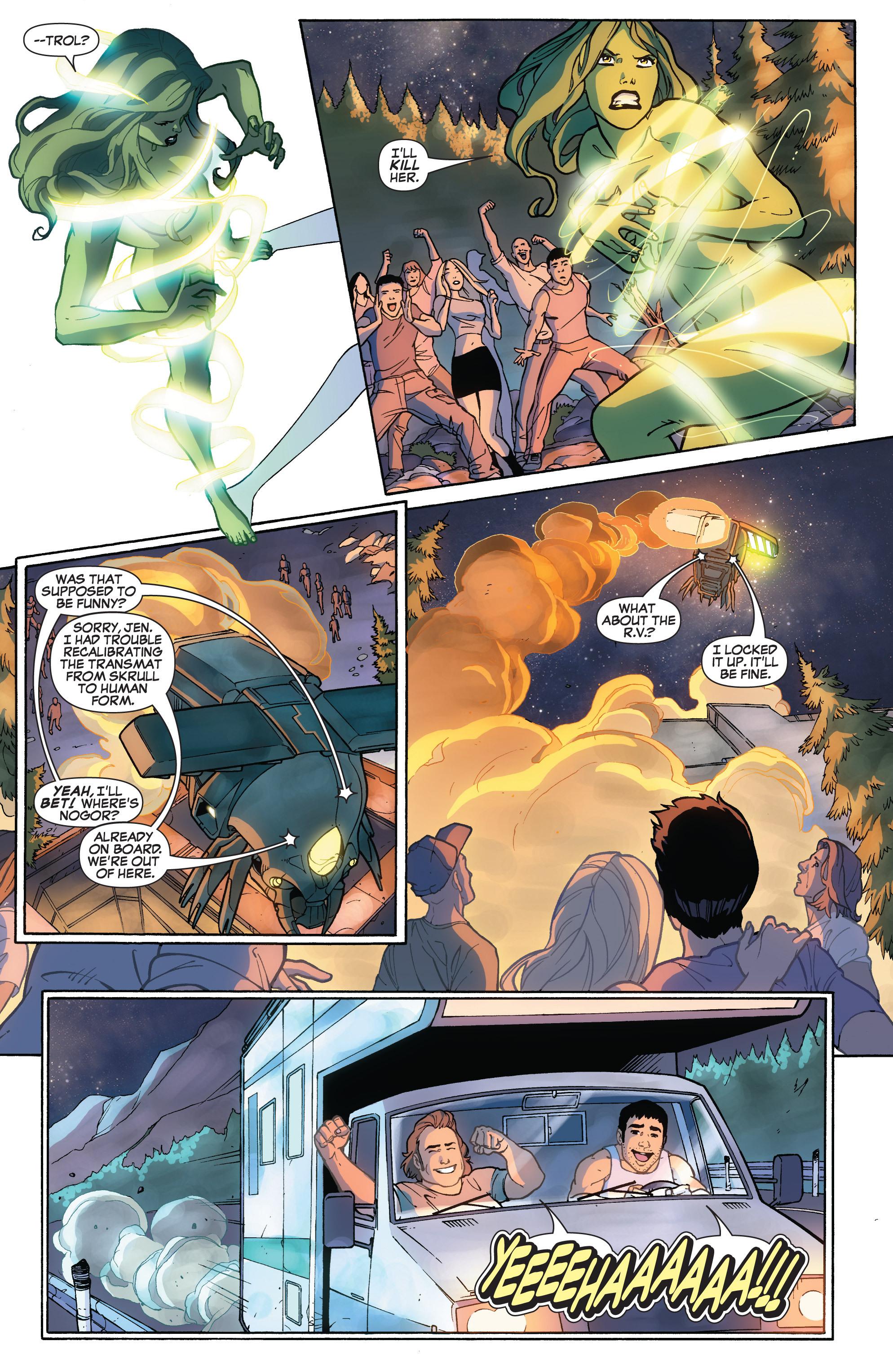 Read online She-Hulk (2005) comic -  Issue #32 - 14