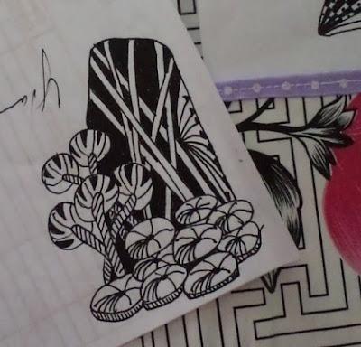 Zen Jungle Doodle by eSheep Designs