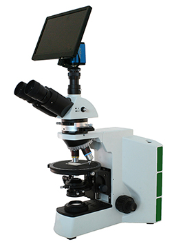 Textile Exam Micrsocope for Method AATCC 20 and AATCC 20A