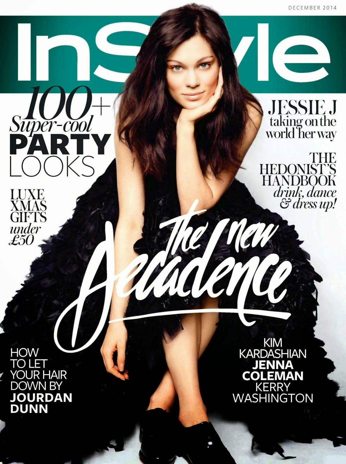 Instyle Magazine Us: Smartologie: Jessie J For InStyle UK December 2014