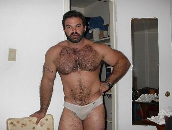 Mature bear male hideaway