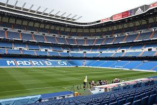 Vistas estadio Santiago bernabeu