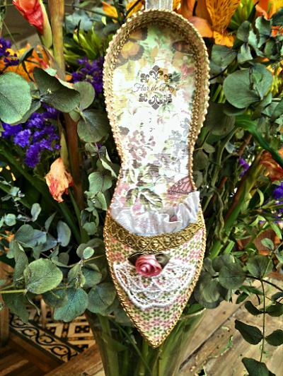 zapato-de-papel-con-flores-flor-de-diys