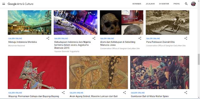 Tur Galeri Seni Tool Google Yang Belum Anda Ketahui dan Wajib dicoba