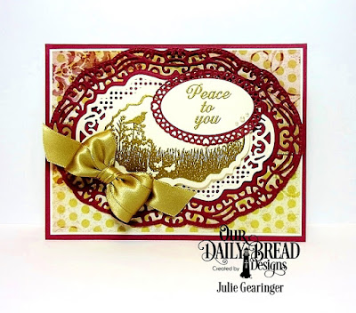 Our Daily Bread Designs Stamp Set: Vintage Bird Labels, Our Daily Bread Designs Custom Dies:Vintage Label, Vintage Borders, Layered Lacey Ovals, Ovals, Our Daily Bread Designs Paper Collection:Rustic Beauty