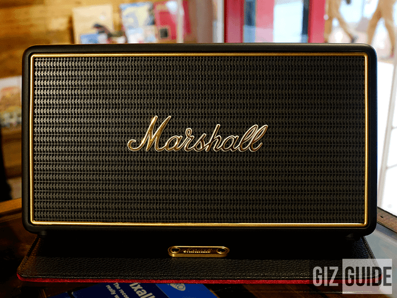 Portable Marshall Speaker!