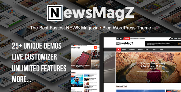 NewsMagZ WordPress Themes