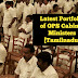 Latest Portfolio of OPS Cabinet Ministers [Tamilnadu]