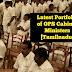 Latest Portfolio of OPS Cabinet Ministers [Tamilnadu]