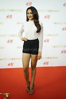 Pragya Jaiswal in lovely Black Mini Skirt and White Transparent Shirt ~  Exclusive 058.JPG