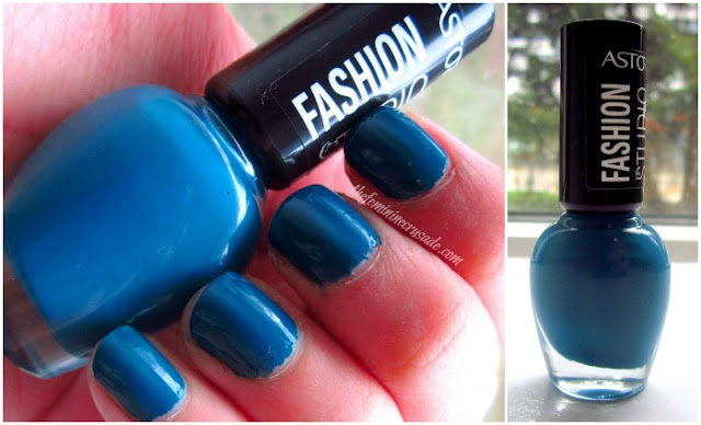 Picture of Astor Fashion Studio Neo Garden Party Collection - 243 Dark Water Blue