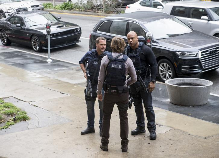 NCIS: Los Angeles - Episode 8.15 - Payback - Promo, Sneak Peek, Promotional Photos & Press Release