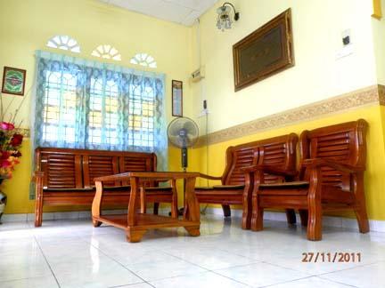 Set Kerusi Kayu Ruang Tamu Desainrumahid