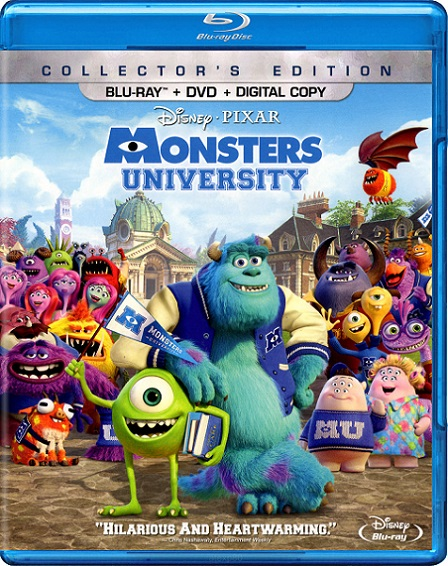 Monsters University (2013) m1080p BDRip 10GB mkv Dual Audio Dolby TrueHD 7.1 ch