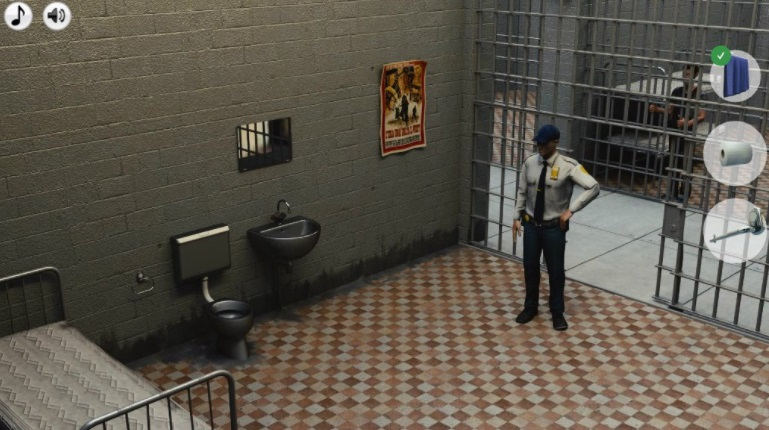 Escape the prison adventure police could find prisoner