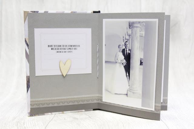 Minialbum Hochzeit