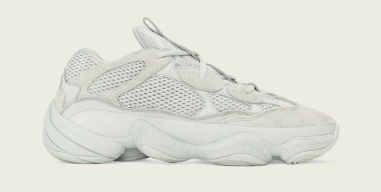 9002cce347fbf THE SNEAKER ADDICT  adidas Originals Yeezy 700 Salt Sneaker By Kanye ...