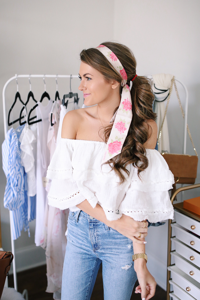 Southern Curls & Pearls: Eight Different Ways to Wear a ...