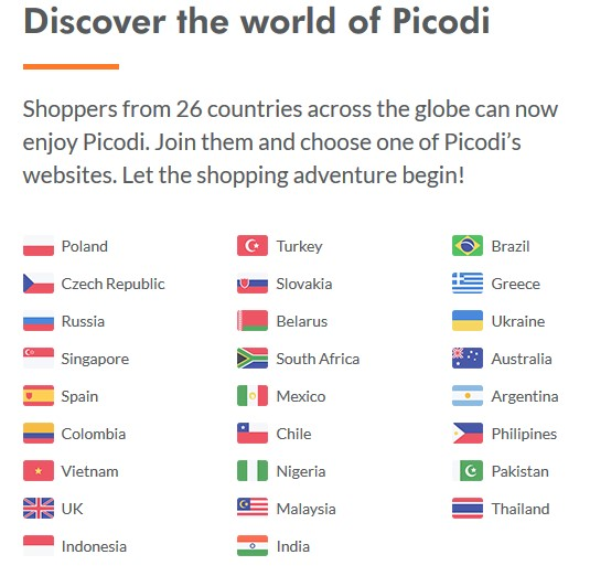 Discover the world of Picodi VietNam