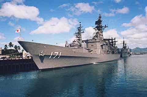Gambar kapal perang JDS_Hatakaze171 paling tangguh milik Jepang