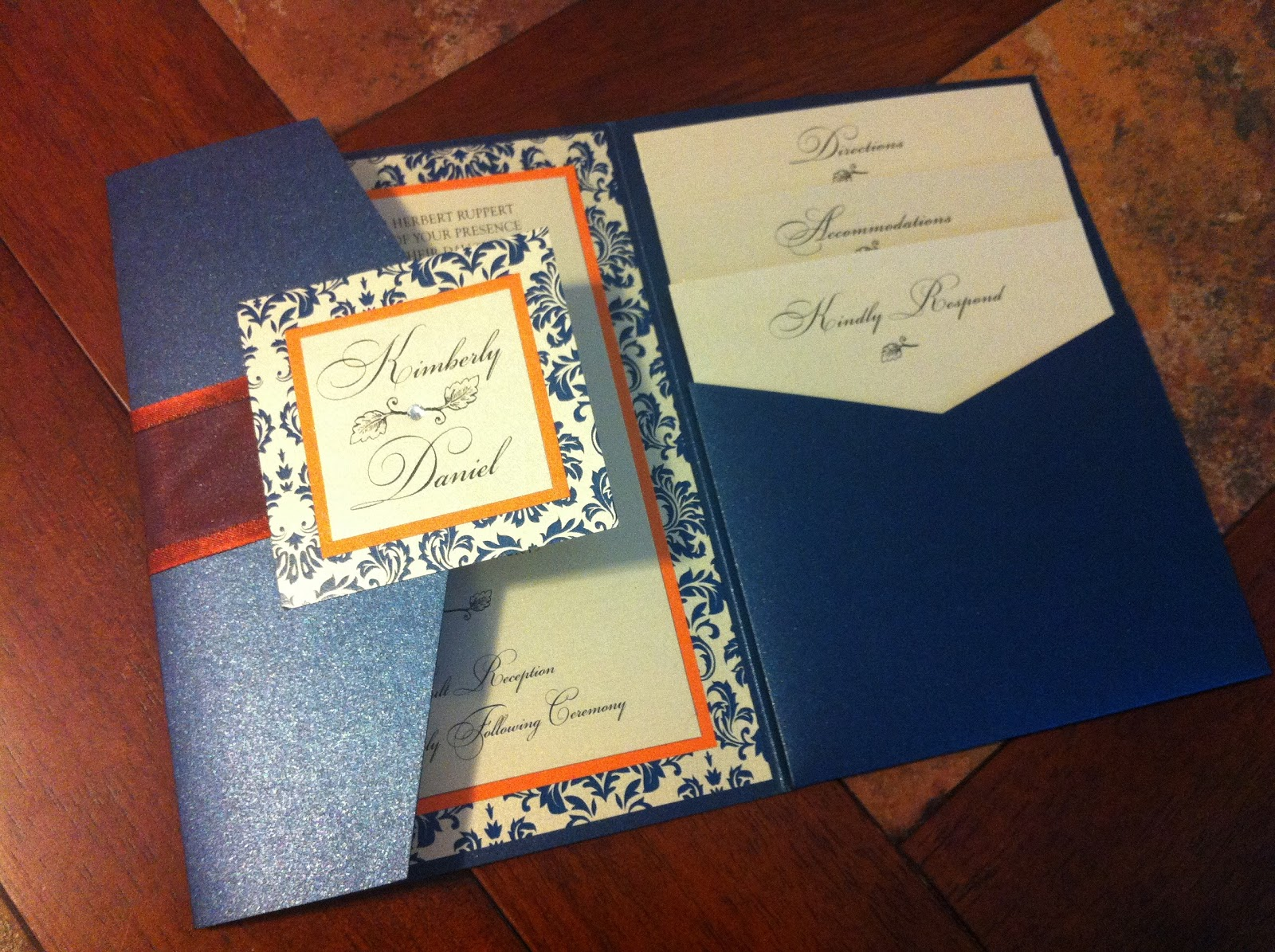 Photo Pocket Wedding Invitations: Kindly R.S.V.P. Designs' Blog: Wedding Invitations