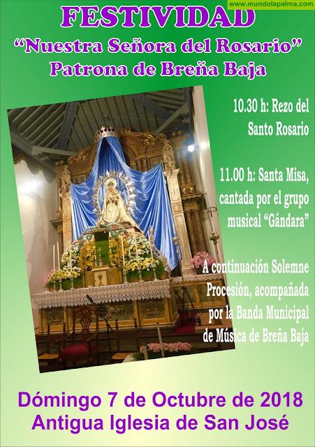 """BREÑA BAJA: Festividad de su Patrona, """"Ntra. Sra. del Rosario"""""""