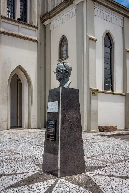 Herma em homenagem ao padre Felix Stefanowicz