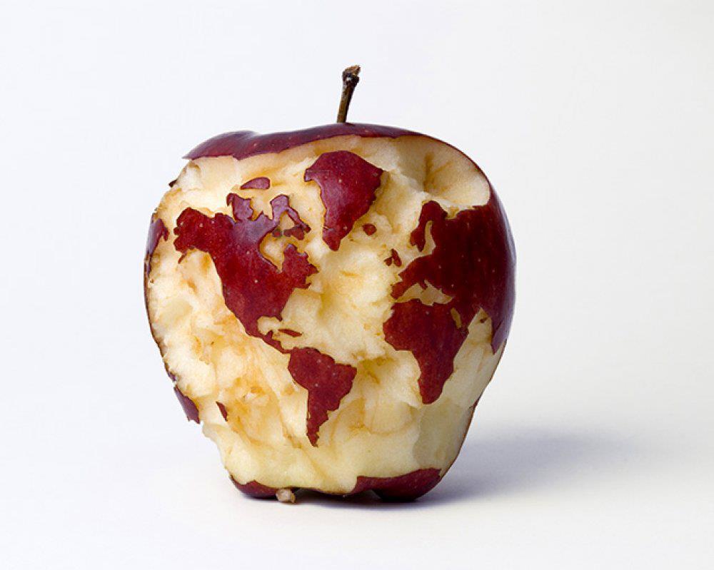 simply creative amazing apple art