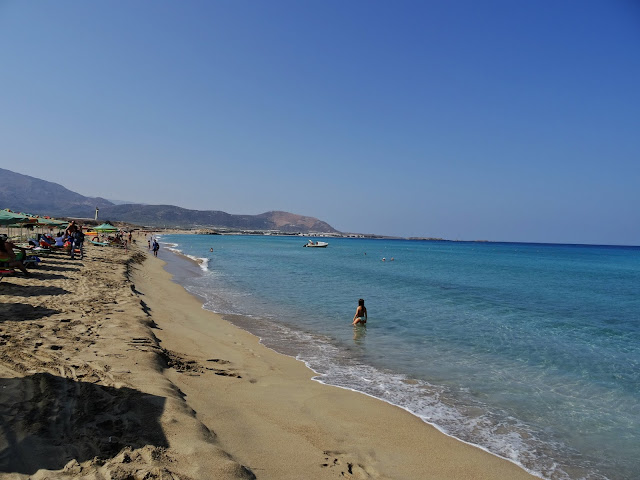 plaża Falassarna Kreta zachodnia