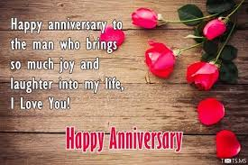 St anniversary wishes for husband with romantic love quotes