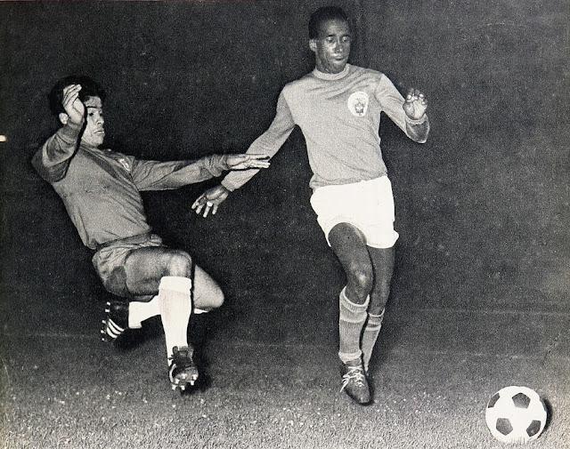 Chile y Colombia en Campeonato Sudamericano de 1967 (repechaje clasificatorio)