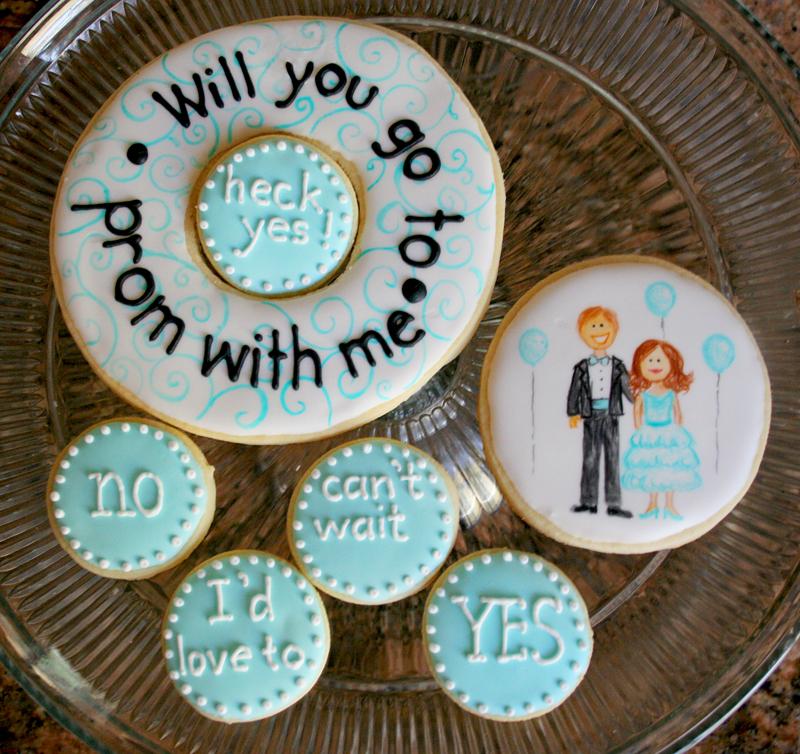 Prom Cookie Cake