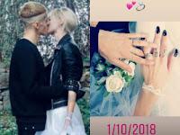 Young Signorino si è sposato con una bionda: stavano insieme da maggio