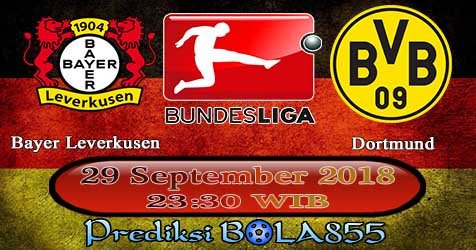 Prediksi Bola855 Bayer Leverkusen vs Dortmund 29 September 2018