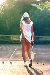 Athena tennis girl poster