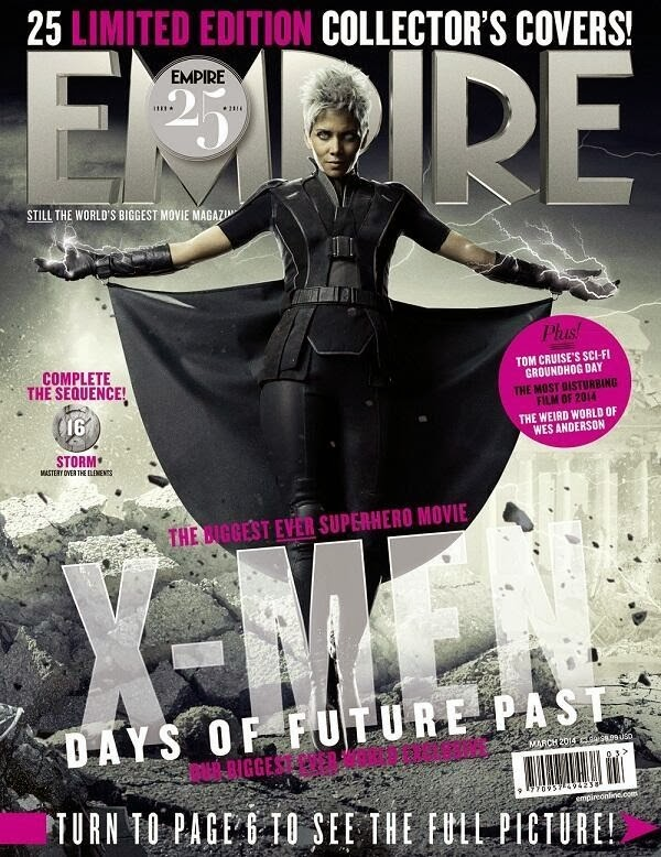 Empire covers X-Men: Days of Future Past: Tormenta