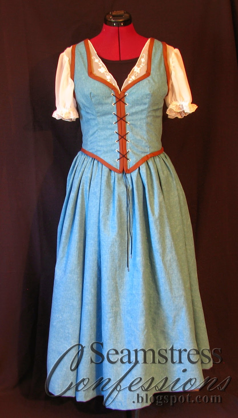 confessions of a seamstress belle blue dress  version 6