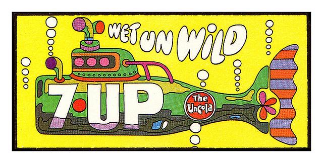 7UP Vintage Billboard ...