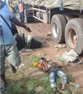 A young boy was crushed to death by a trailer in Aba,