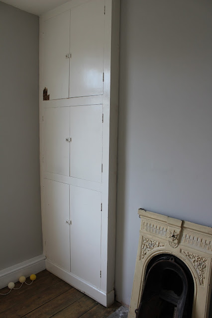 old wardrobe in need of transformation