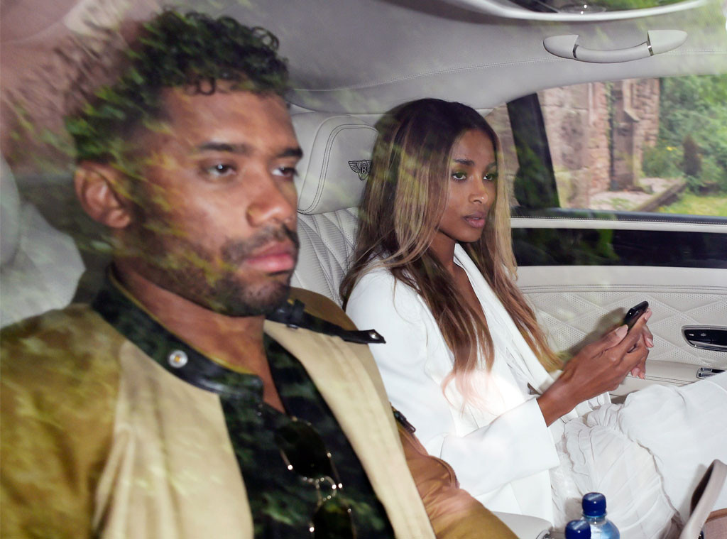 ciara and russell wilson jet off for their honeymoon