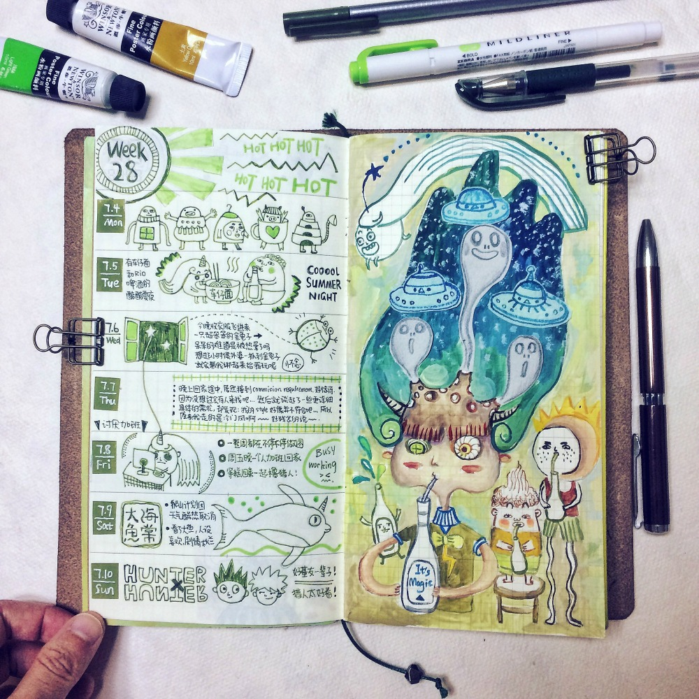 The Journal Diaries Zel S Fantasy World Seaweed Kisses