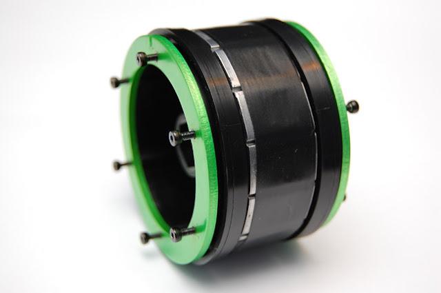 Axial AX10 wheel weights mod