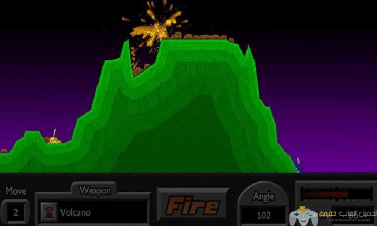 تحميل لعبة الدبابات Pocket Tanks للكمبيوتر