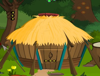 GamesNovel Forest Wooden Hut Escape