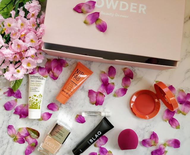 Powder Beauty Drawer Box October 2017