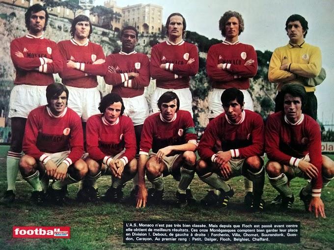 A.S MONACO 1971-72.